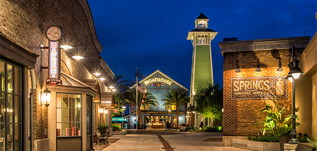 Incredible dining, fantastic shopping and a variety of entertainment venues at Disney Springs