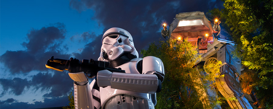 Look out for the Stormtroopers at Disney's Hollywood Studios