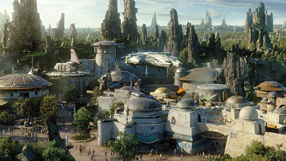 Planet Batuu at Star Wars: Galaxy's Edge
