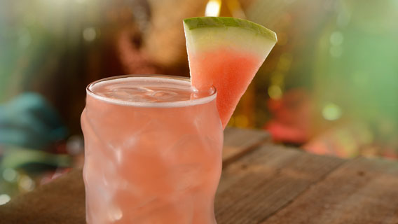 Enjoy a refreshing selection of non-alcoholic or alcoholic beverages