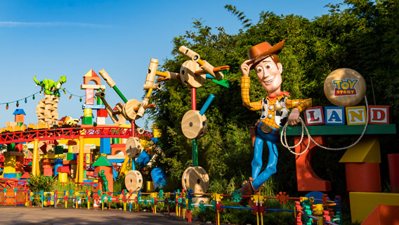Entrance to Toy Story Land