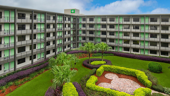 The pool at Wyndham Garden Lake Buena Vista